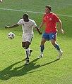 Czech Republic versus Ghana at 2006 World Cup Matthew Amoah (cropped).jpg