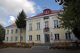Dąbrowa Tarnowska Place in Lesser Poland, Poland