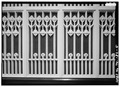 DETAIL- ORGAN SCREEN, PULPIT AREA - Calvary Episcopal Church, 102 North Second Street, Memphis, Shelby County, TN HABS TENN,79-MEMPH,12-5.tif