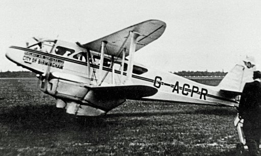 DH.89 Dragon Rapide G-ACPR Rly AS Ringway 07.38 edited-2