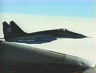 Korean People's Army Air Force - A North Korean MiG-29S, 2003