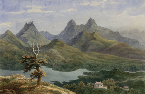 Carran - Carran painted in the first half of the 19th century by a travelling French artist