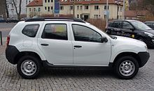 Dacia Duster Ambiance 1.6 16V 4x2 Artiksweiß Seite.JPG