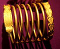 Dacian Gold Bracelet at the National Museum of Romanian History 2011 - 4.jpg