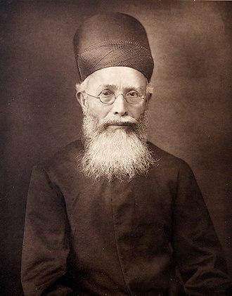 Dadabhai Naoroji - Dadabhai Naoroji c. 1889