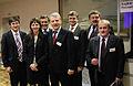 Dagfinn Hoybraten (i midten) har flere gange forhandlet med politikere fra Hviderusland.jpg