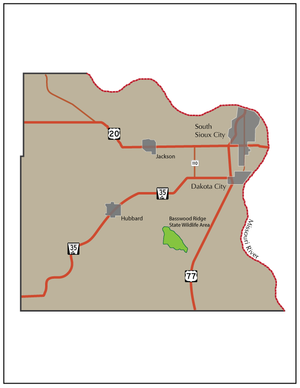 Dakota County, Nebraska - Dakota county and features