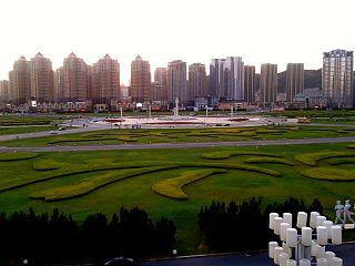 large square in Dalian, China