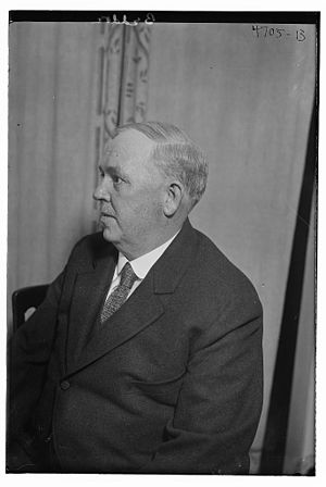 Dan Beddoe - Dan Beddoe facing left in 1918