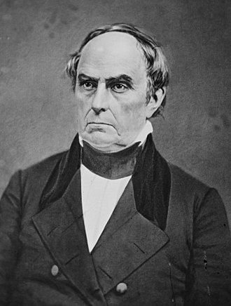 1852 United States presidential election in Georgia - Image: Daniel Webster crop