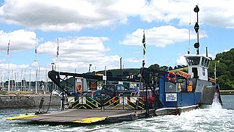 A379 road - The Dartmouth Higher Ferry