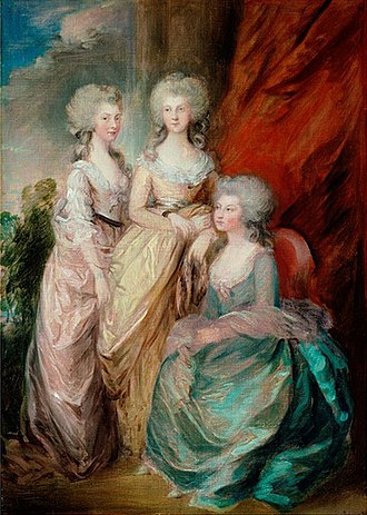 Gainsborough Dupont - Image: Daughters of George III by Dupont