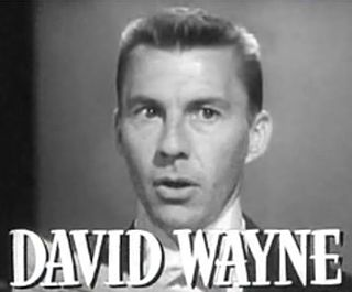 David Wayne American actor