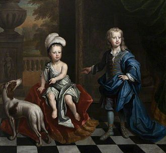 David Colyear, 1st Earl of Portmore - David Colyear had two sons (pictured) with Catherine Sedley, Countess of Dorchester.