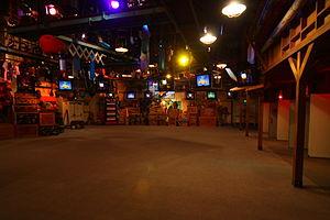 Muppet*Vision 3D - Pre-show area.