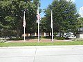 DeLand (FL) City Hall; Flagpoles-2.jpg