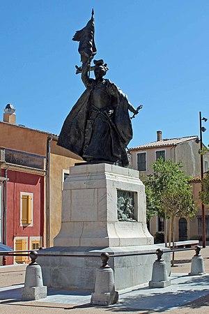 Paul Ducuing - Monument à Françoise de Cezelli.