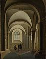 De westelijke traveeën van de zuidelijke beuk van de Mariakerk te Utrecht Rijksmuseum SK-A-1189.jpeg