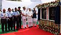 Defence Minister Arun Jaitley laying the foundation stone for the Nau Sena Bhawan (2).JPG