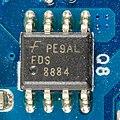 Dell E-Port II PR03X - board - Fairchild FDS8884-7603.jpg