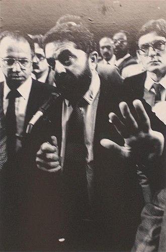 1989 Brazilian presidential election - Image: Dep. lula