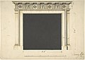 Design for a Chimneypiece with a Classical Cornice, for Ampthill Park, Bedfordshire, Dining Room MET DP800994.jpg