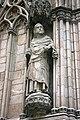Detail of the facade - Basilica de Santa Maria del Mar - Barcelona 2014 (2).JPG