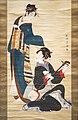 Deux beautés d'U. Toyokuni (musée national de Tokyo) (28471256358).jpg