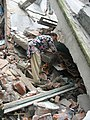 Devastation caused by the massive earthquake in the worst affected North district of Sikkim (2).jpg