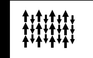 Curie temperature - Image: Diagram of Ferrimagnetic Magnetic Moments