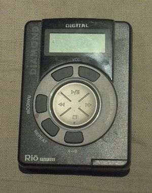Rio (digital audio players) - Rio PMP300