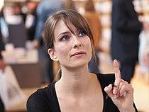 Diane Ducret - Salon du livre de Paris - 23 mars 2014 - 02.JPG