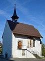 Die 'Liebfrauenkapelle' in Rapperswil, Ansicht von der Stadtpfarrkirche 'St. Johann' 2012-11-01 14-28-47 ShiftN.jpg