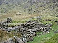 Dilapidated Sheepfold in Cwm Glas Mawr - geograph.org.uk - 227616.jpg
