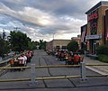 Dining alfresco at TGI Friday's, Newburgh, NY, during COVID-19 pandemic.jpg