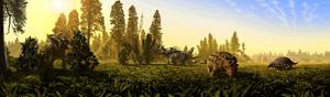 Polyodontosaurus - Megafaunal dinosaurs of the Dinosaur Park Formation