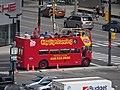 Distant double-decker bus, 2015 08 29 - panoramio.jpg