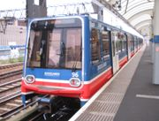 Oyster card can be used on the DLR network.