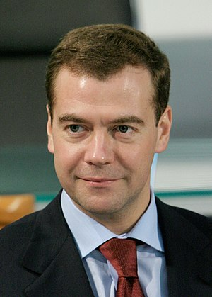 Russian legislative election, 2011 - Image: Dmitry Medvedev official large photo 5