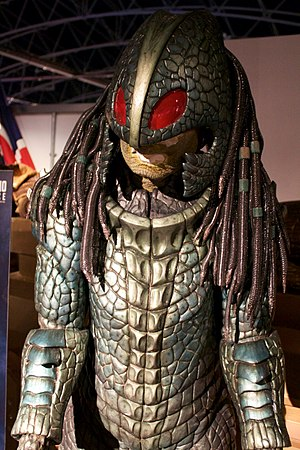 Ice Warrior - The Empress of Mars, on display at a Doctor Who exhibition