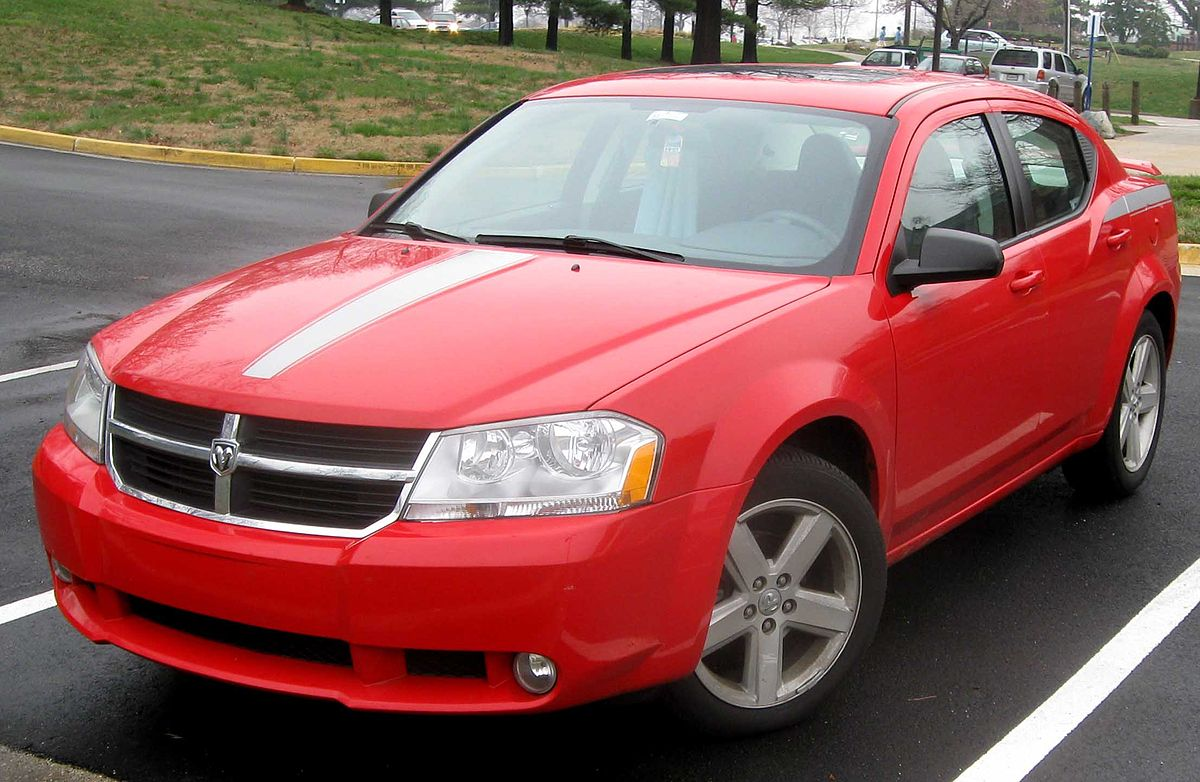 Px Dodge Avenger Sxt Sedan on Dodge Avenger