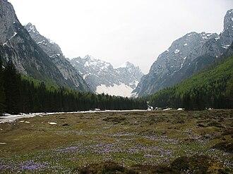 Krma - Krma Valley in May 2009