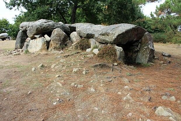 Monument historique à Erdeven