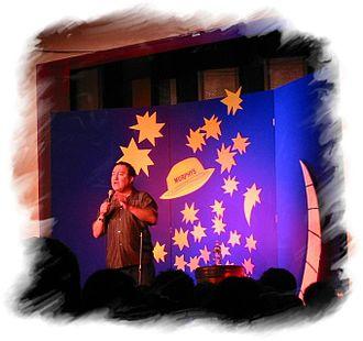 Dom Irrera - Dom Irrera at the Kilkenny Cat Laughs festival - Ireland in 2003