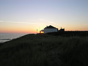 Domburg - Sunrise with dunes and villa