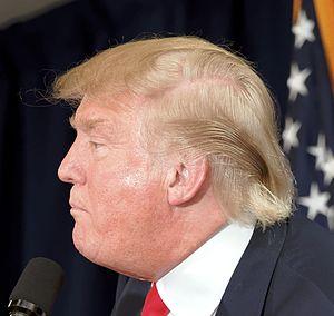 Donald Trump in popular culture - Trump's hairstyle
