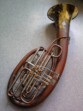 Wagner tuba - Image: Double Wagner tuba by Alexander
