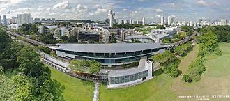 Singapore Polytechnic - Dover MRT Station provides rapid transit to Singapore Polytechnic