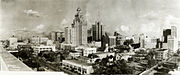 Downtown Houston TX 1927