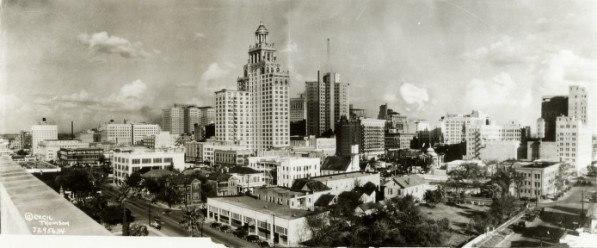 Downtown Houston TX 1927